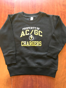 Property of AC/GC Chargers--Toddler