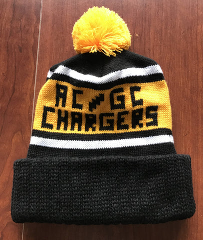 AC/GC Chargers Stocking Hat & Mittens