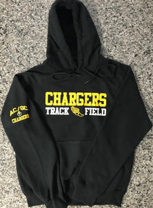 AC/GC Chargers Track & Field Hooded Sweatshirt