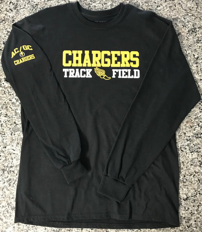 AC/GC Chargers Track & Field Long Sleeve Tshirt