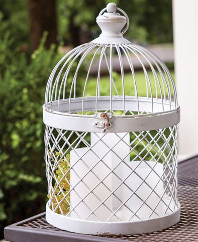 Distressed Birdcage