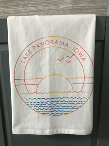 Lake Panorama Flour Sack Towel