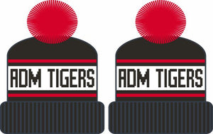 ADM Tigers Stocking Hat & Mittens