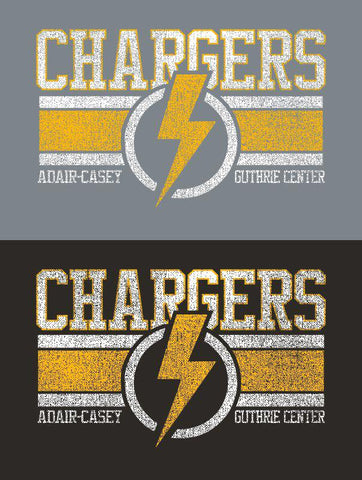 ACGC Chargers Stripes