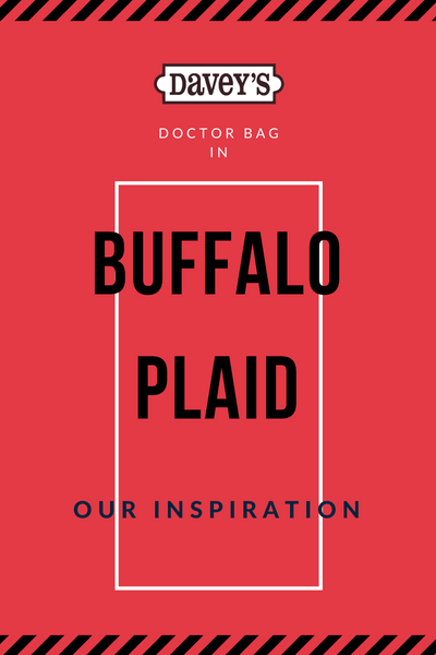 Buffalo Plaid Doctor Bag | Our Inspiration