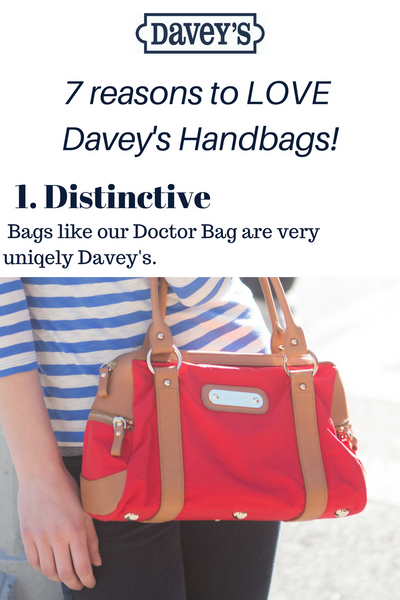 7 Reasons to LOVE Davey's Handbags!