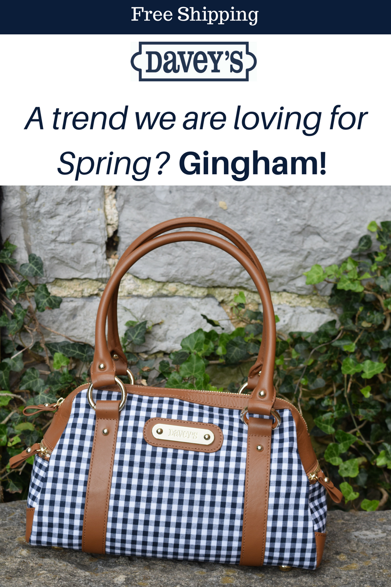 New Spring Trend....Gingham