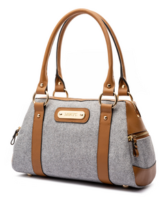 Doctor Bag - Grey Wool