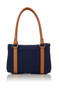 Small Tote - Navy Corduroy