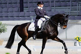 Dressage star Mary Hanna chats all things horses and Haygain