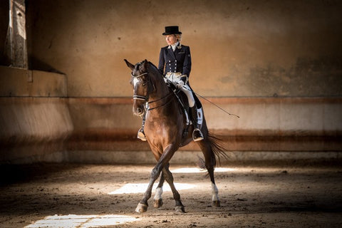 Catching up with Verity Smith- blind international dressage rider