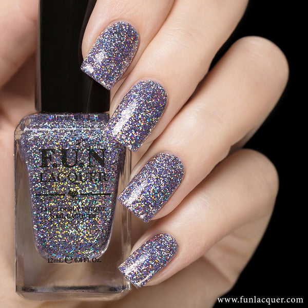 The Art of Sparkle Holographic Glitter Nail Polish