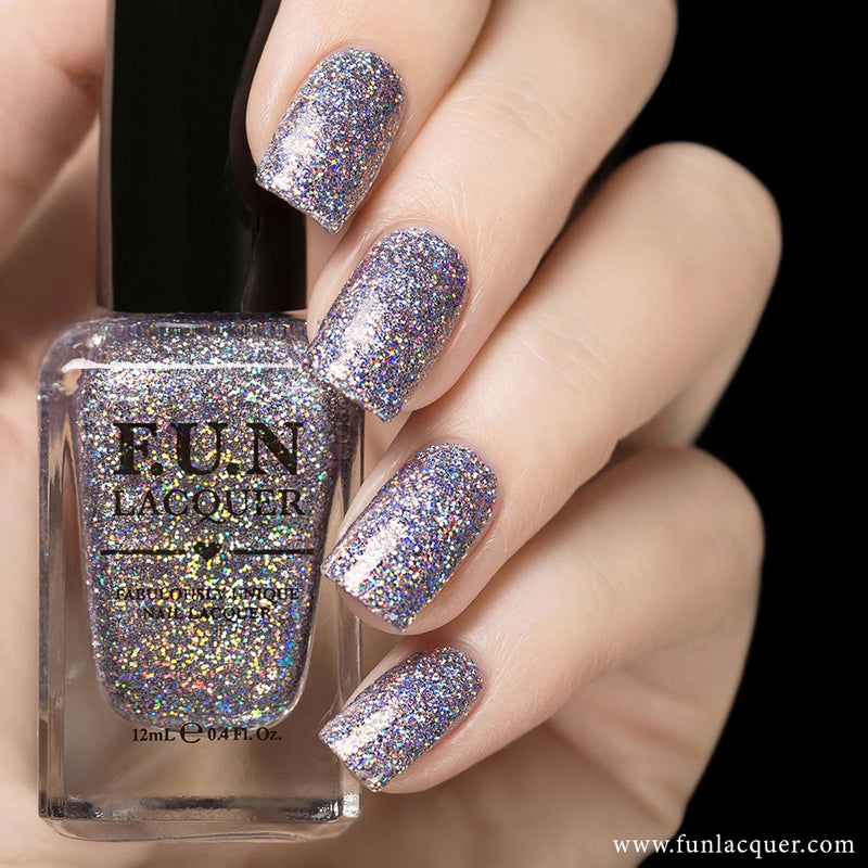 The Art of Sparkle (H) Holographic Glitter Nail Polish