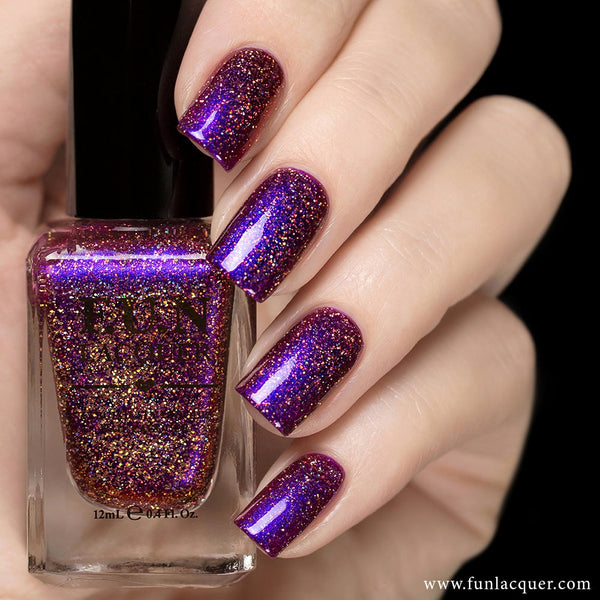 Fun Lacquer Holographic Multichrome Cheers To The Holidays H 4