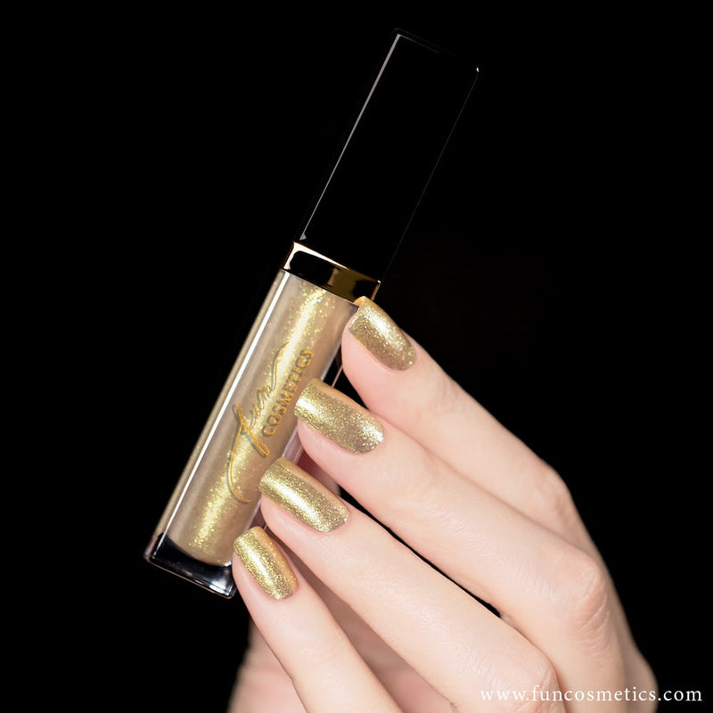 Heart Of Gold Best Color Shifting Shimmer Nail Polish