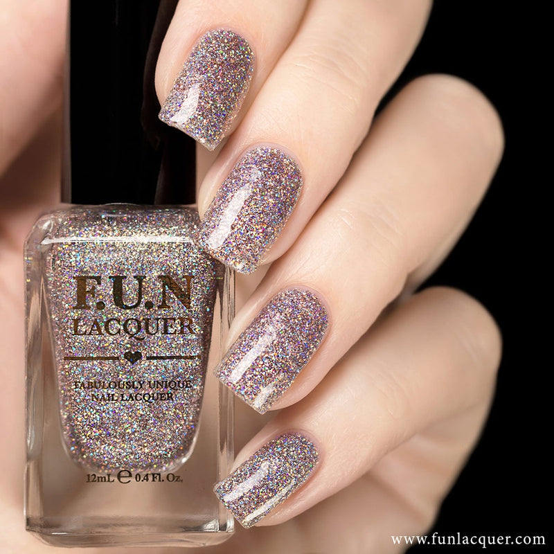 Prima Donna (H) Pink Holographic Glitter Nail Polish