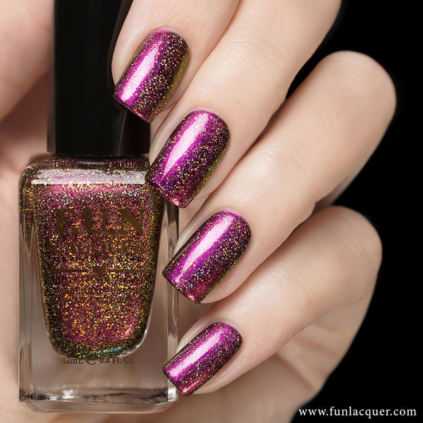 Fun Lacquer Celebrate H Holographic Multi-Chrome 4