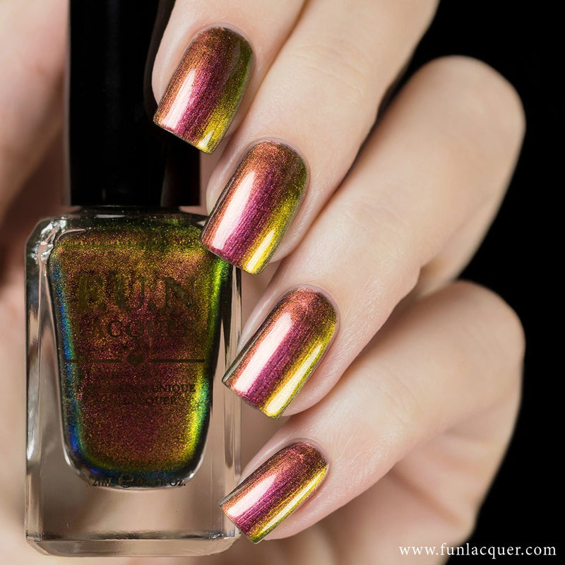 Fun Lacquer Poinsettia Multi-Chrome Nail Polish