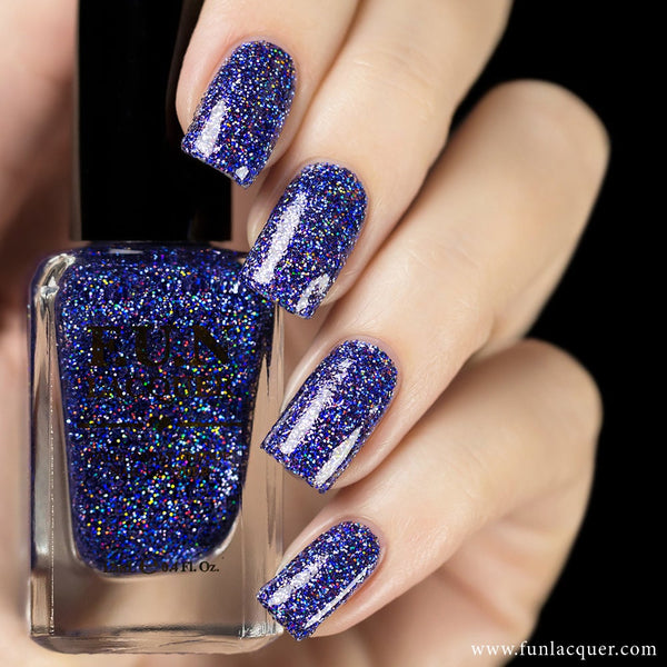 Galaxy Holographic Glitter Nail Polish