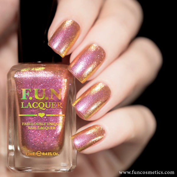 Dating 005 Color Shifting Shimmer Nail Polish