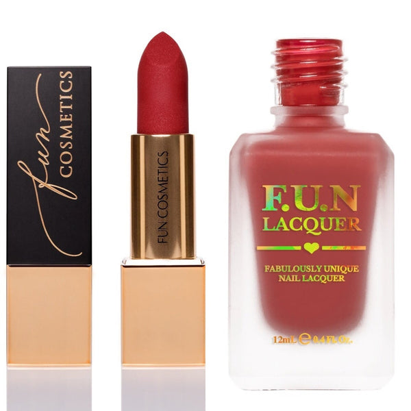 Fashionista 958 Lip & Nail Duo