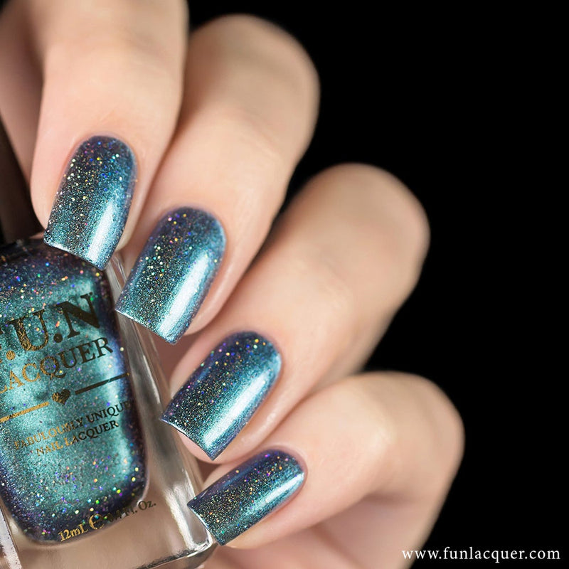Bachelor's Button Duochrome Holo Nail Polish