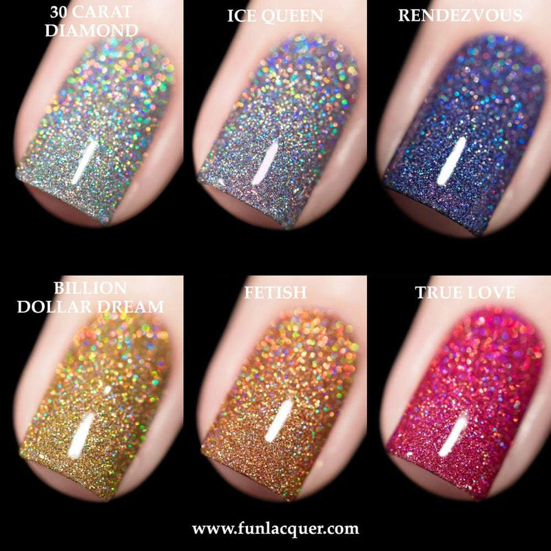 Birthday 2019 Collection Holo Glitter Nail Polish