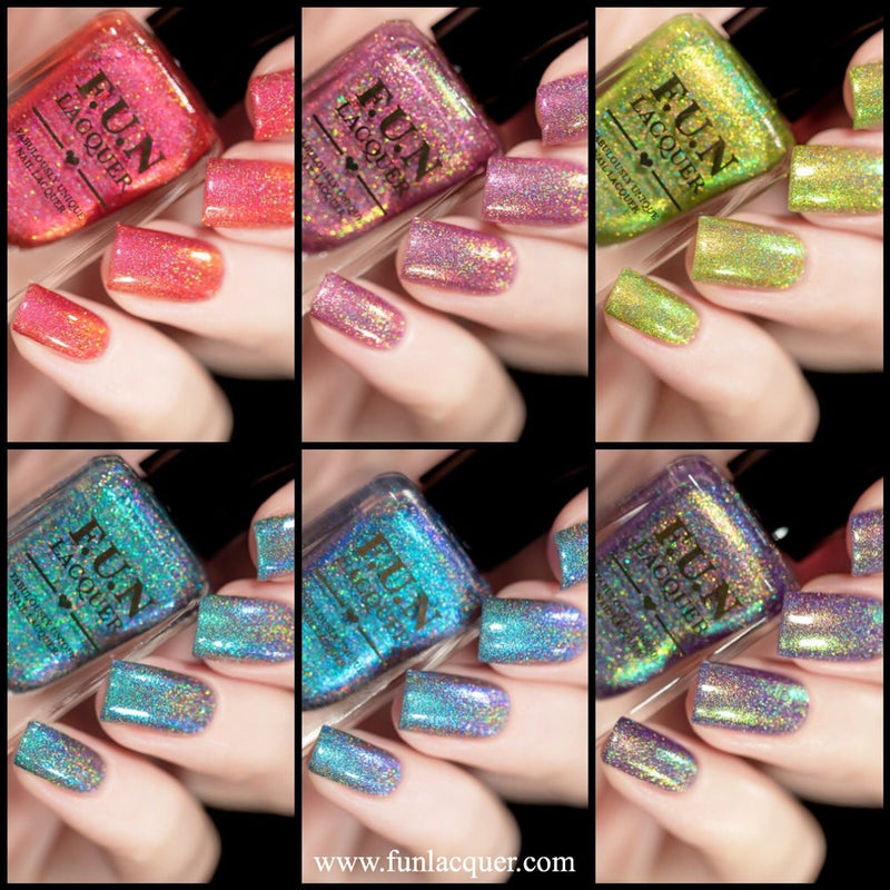 Christmas 2018 Collection Holo Nail Polish 1