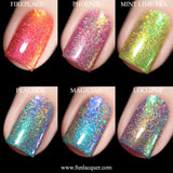 Christmas 2018 Collection Holo Nail Polish 2