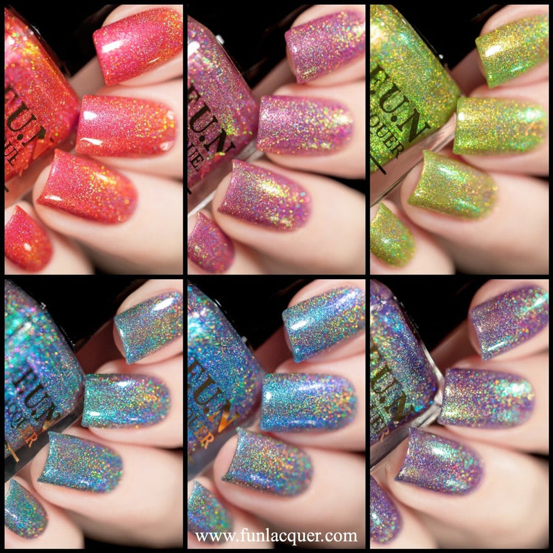 Christmas 2018 Collection Holo Nail Polish 3