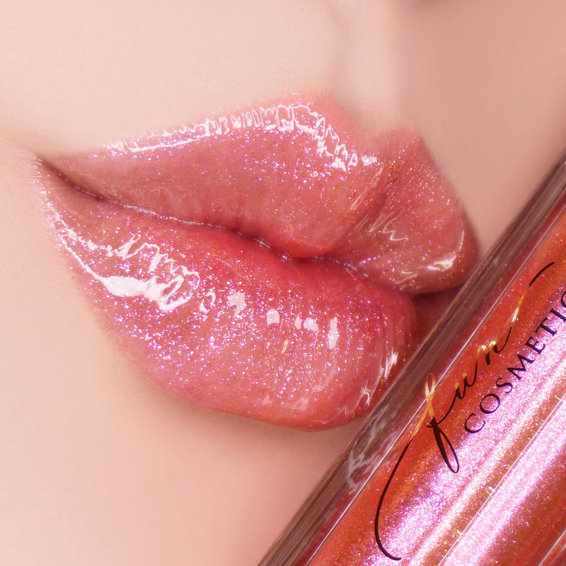 Dating 005 Color Shifting High Shine Pink Lip Gloss