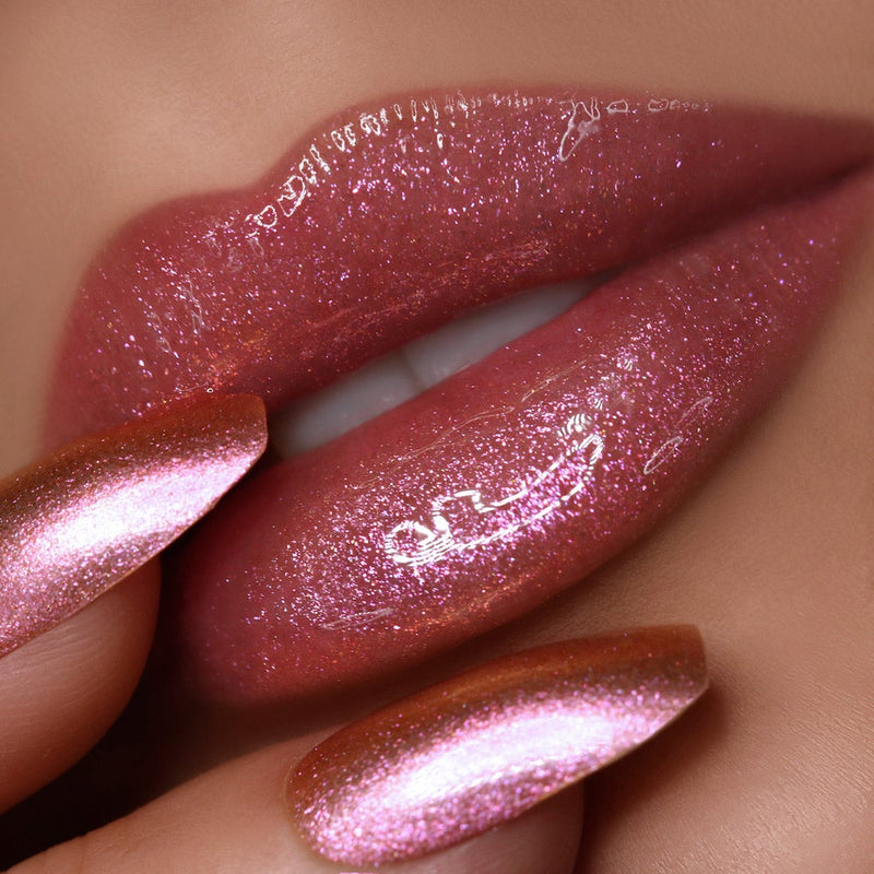 Dating 005 Color Shifting High Shine Rose Lip Gloss