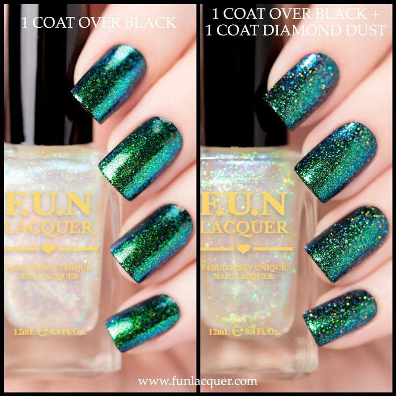 Elysium Green Color Shifting Unicorn Top Coat