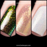 Enchanting Yellow Gold Color Shifting Unicorn Top Coat