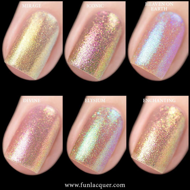 FUN-TASY Collection Unicorn Color Shifting Top Coat