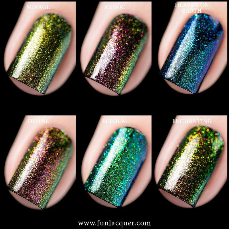 FUN-TASY Collection Unicorn Color Shifting Iridescent Top Coat
