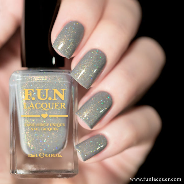 Personal Bodyguard Pastel Holographic Nail Polish