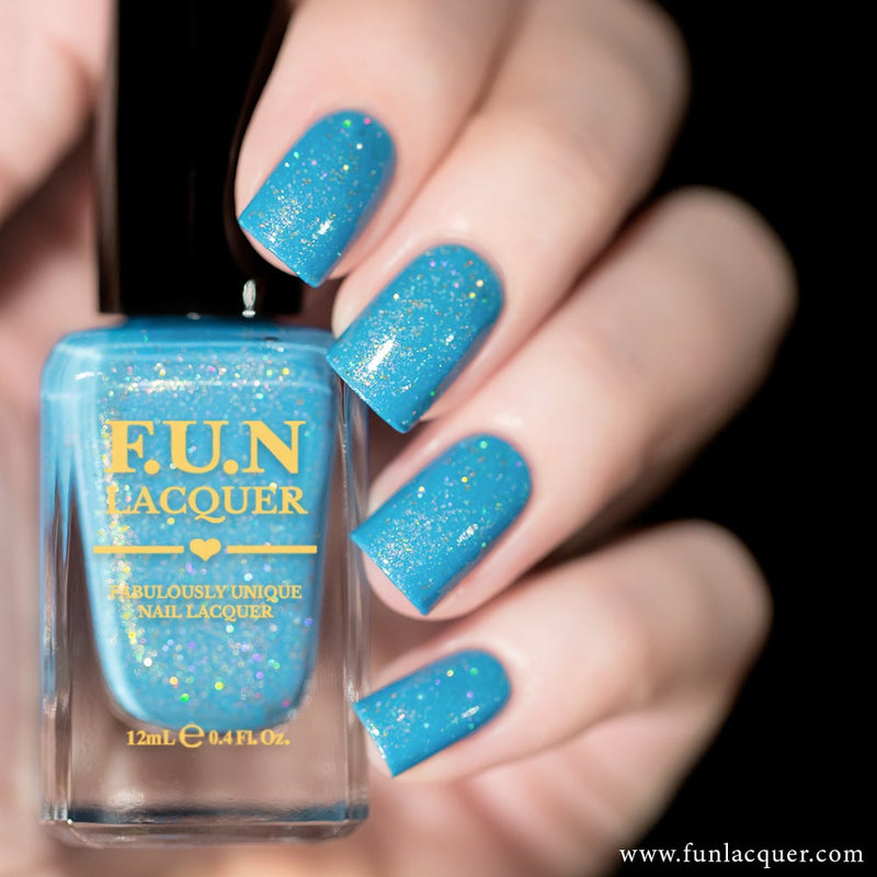Vitamin Sea Pastel Holographic Nail Polish
