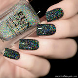 Crushed Diamond Scattered Linear Holographic Topper
