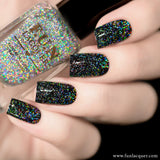Diamond Flake Holographic Flakie Top Coat