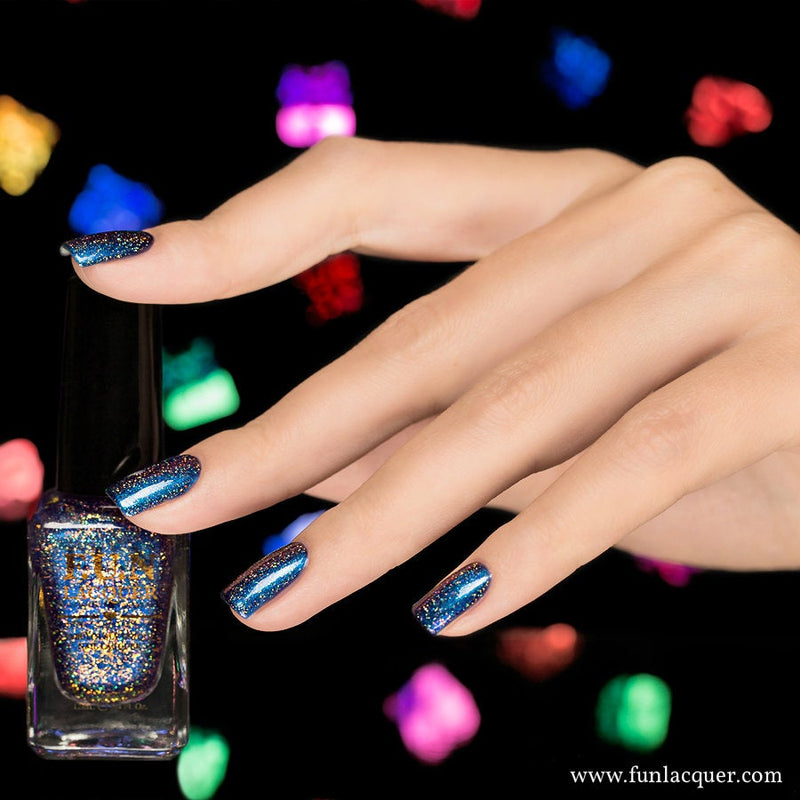 Fun Lacquer Frost H Holographic Multi-chrome 4