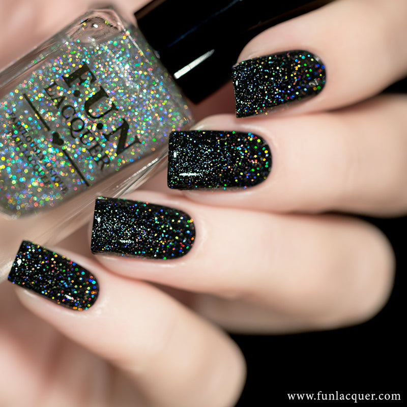 Diamond Dust Scattered Holo Top Coat