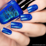 Inspiration Best Blue Holographic Nail Polish