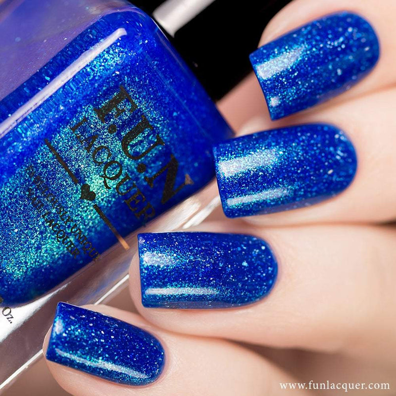Inspiration Best Blue Holo Nail Polish