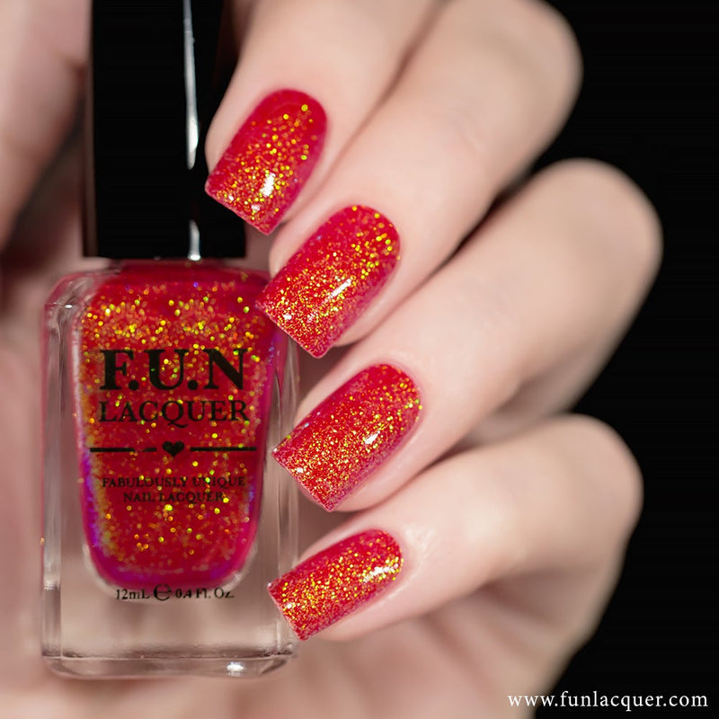 Jingle Bells Color Shifting Glitter Nail Polish