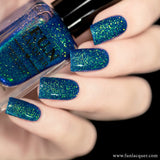 Northern Lights Blue Green Color Shifting Nail Polish