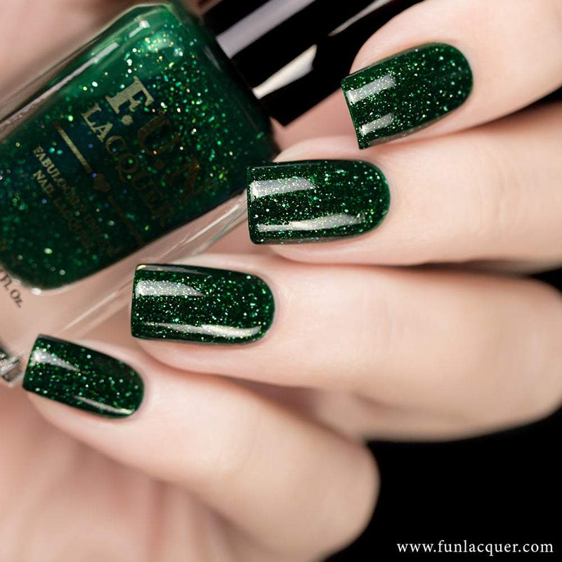 Paragon Best Green Holographic Nail Polish