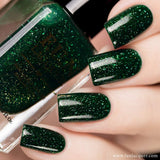 Paragon Best Green Holo Nail Polish