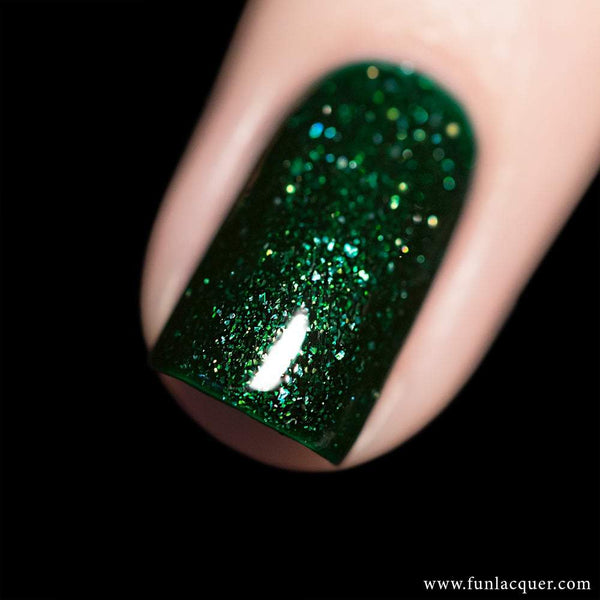 Paragon Green Holo Nail Polish