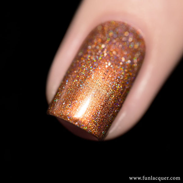 Triumph Linear Copper Holo Nail Polish
